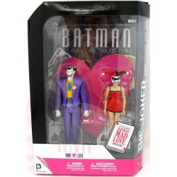 THE JOKER AND HARLEY QUINN BATMAN MAD LOVE DC COMICS 2PACK ACTION FIGURES