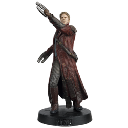 STAR LORD FROM GOTG MARVEL MOVIE COLLECTION RESINE FIGURE NUMERO 7