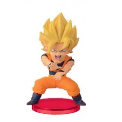 SON GOKU SSJ DRAGON BALL Z WCF BATTLE OF SAIYAN VOL 1 PVC FIGURE