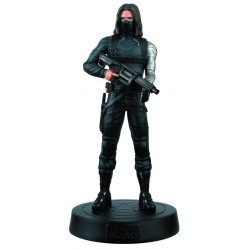 WINTER SOLDIER MARVEL MOVIE COLLECTION RESINE FIGURE NUMERO 10