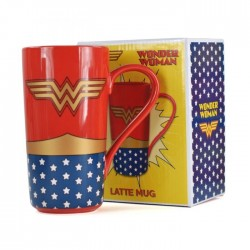 WONDER WOMAN DC COMICS LATTE MUG