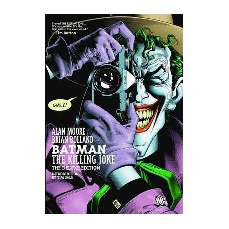 BATMAN THE KILLING JOKE DELUXE HC
