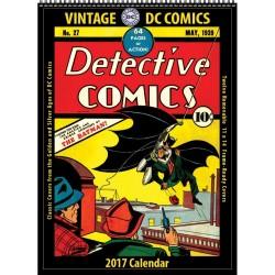 DC COMICS VINTAGE 2017 CALENDAR