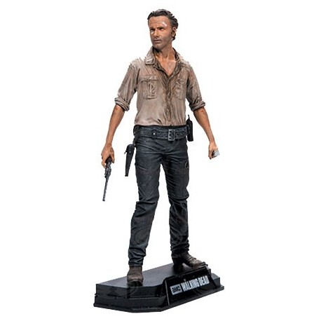 RICK GRIMES THE WALKING DEAD COLOR TOPS 7INCH FIGURE