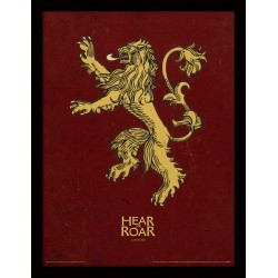HEAR ME ROAR LANNISTER GAME OF THRONES POSTER