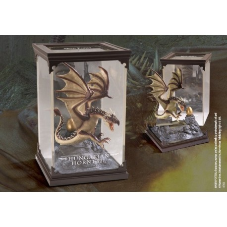 HUNGARIAN HORNTAIL HARRY POTTER MAGICAL CREATURES STATUE