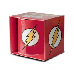 DC COMICS FLASH LOGO BOXED MUG