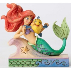 FUN AND FRIENDS ARIEL ET POLOCHON DISNEY TRADITIONS STATUE