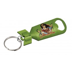 WONDER WOMAN DC COMICS BOMBSHELLS BOTTLE OPENER KEYCHAIN