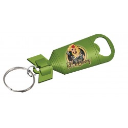 BLACK CANARY DC COMICS BOMBSHELLS BOTTLE OPENER KEYCHAIN
