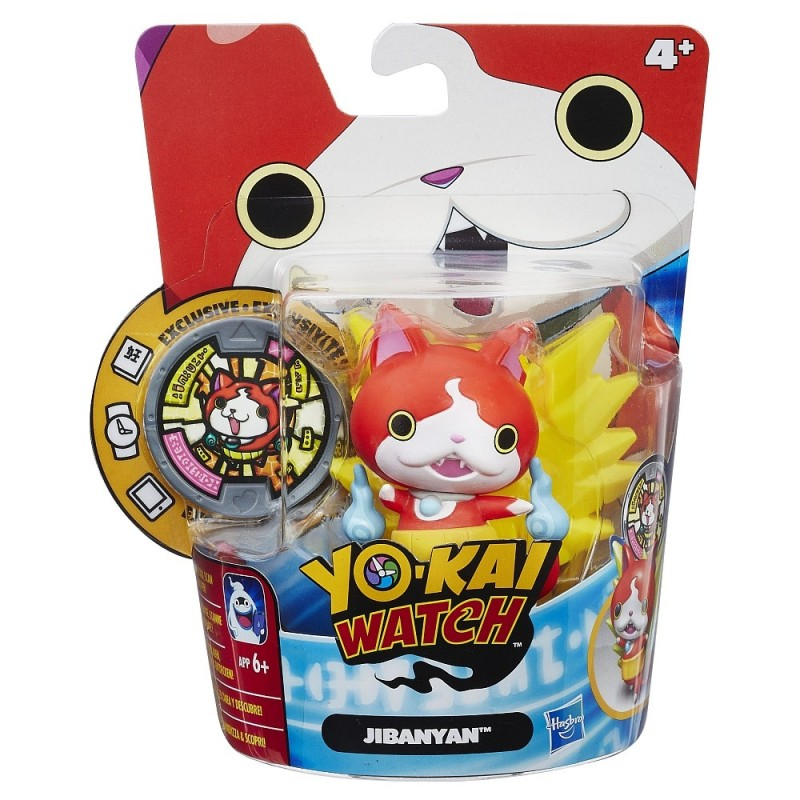 jibanyan yokai watch figure and medal album