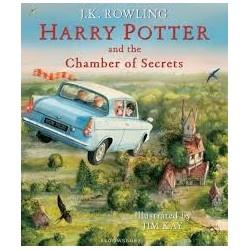 HARRY POTTER ET LA CHAMBRE DES SECRETS - VERSION ILLUSTREE