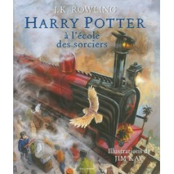 HARRY POTTER A L'ECOLE DES SORCIERS - VERSION ILLUSTREE