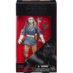 CAPTAIN CASSIAN ANDOR STAR WARS ROGUE ONE BLACK SERIES 6INCH ACTION FIGURE