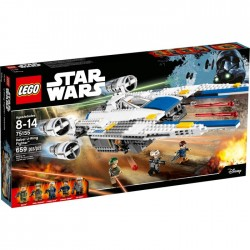 REBEL U WING FIGHTER LEGO STAR WARS ROGUE ONE BOX