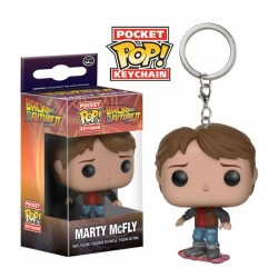 MARTY MCFLY BACK TO THE FUTURE 2 POCKET POP! KEYCHAIN
