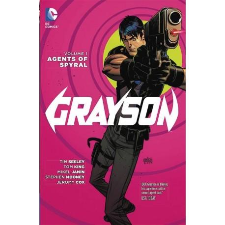 GRAYSON VOL.1 AGENTS OF SPYRAL SC