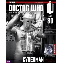 CYBERMAN MOONBASE DOCTOR WHO COLLECTION NUMERO 80