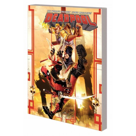 DEADPOOL WORLD'S GREATEST VOL.4 TEMPORARY INSANITATION