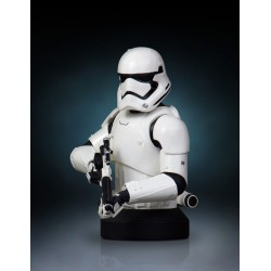 FIRST ORDER STORMTROOPER STAR WARS COLLECTIBLE MINI BUST