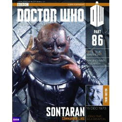SONTARAN COMMANDER LINX DOCTOR WHO COLLECTION NUMERO 86