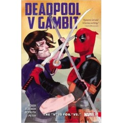 DEADPOOL VS GAMBIT V IS FOR VS