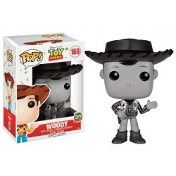 WOODY BLACK AND WHITE FUNKO POP! FIGURE TOY STORY 2