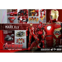 IRON MAN MARK 45 DIE CAST THE AVENGERS AGE OF ULTRON COLLECTIBLE ACTION FIGURE