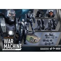 WAR MACHINE IRON MAN 2 DIECAST COLLECTIBLE ACTION FIGURE
