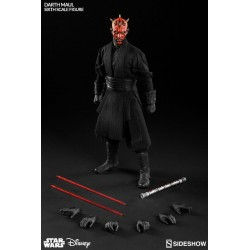 DARTH MAUL DUEL ON NABOO VERSION SIXTH SCALE ACTION FIGURE