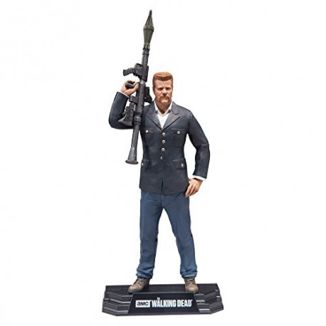 ABRAHAM FORD THE WALKING DEAD COLOR TOPS 7INCH FIGURE
