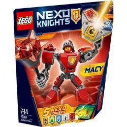 SUPER ARMOR MACY NEXO KNIGHTS LEGO BLISTER