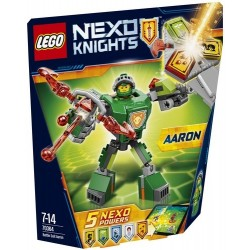 SUPER ARMOR AARON NEXO KNIGHTS LEGO BLISTER