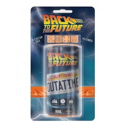 OUTATIME BACK TO THE FUTURE DICE GAME