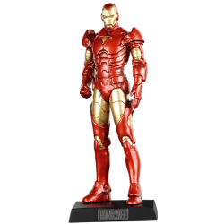 IRON MAN MARVEL CLASSIC COLLECTION NUMERO 6 RESINE FIGURE