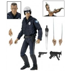 T 1000 MOTORCYCLE COP TERMINATOR 2 JUDGMENT DAY ULTIMATE ACTION FIGURE