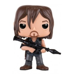 DARYL DIXON WITH ROCKET LAUNCHER THE WALKING DEAD POP! TELEVISION VYNIL FIGURE