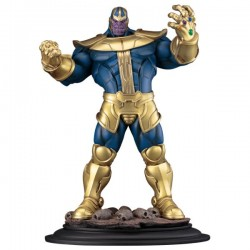THANOS THE INFINITY GAUNTLET FINE ART STATUE