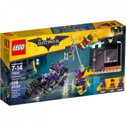CATWOMAN CATCYCLE CHASE LEGO BATMAN MOVIE 70902