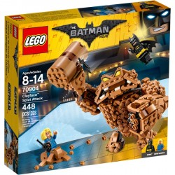 CLAYFACE SPLAT ATTACK LEGO BATMAN THE MOVIE 70904