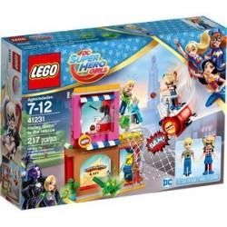 LE SAUVETAGE D'HARLEY QUINN LEGO SUPERHERO GIRLS 41231