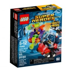 BATMAN VS KILLER MOTH MIGHTY MICROS LEGO DC SUPER HEROES