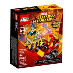 IRON MAN VS THANOS MIGHTY MICROS LEGO MARVEL SUPER HEROES