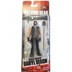 DARYL DIXON GRAVE DIGGER WALKING DEAD SERIES 7 ACTION FIGURE