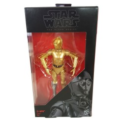 C 3PO STAR WARS THE BLACK SERIES 6 INCH 2016 EXCLUSIVE ACTION FIGURE