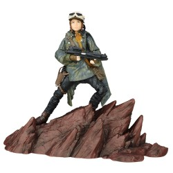 JYN ERSO STAR WARS ROGUE ONE THE BLACK SERIES 6 INCH 2016 EXCLUSIVE ACTION FIGURE