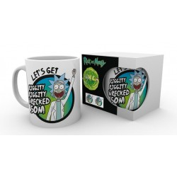 RICK AND MORTY LETS GET WRECKED SON BOXED MUG