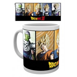 DRAGON BALL Z CHARACTERS BOXED MUG