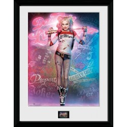 HARLEY QUINN SUICIDE SQUAD COLLECTOR FRAME 45 X 34 CM