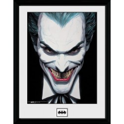 JOKER SMILE PRINT FRAME COLLECTOR